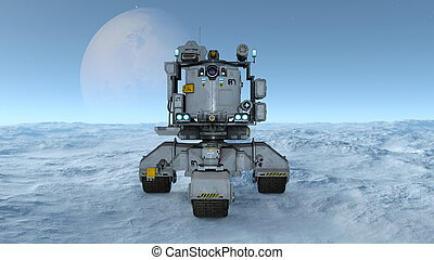 Space rover - Image of a space rover.
