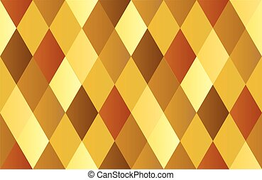 Yellow Gold Celebration Diamond Polygon Background