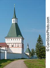 The Valdai Iver Svyatoozersky Virgin Monastery Nikon...