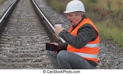 Railway employee struggling with sleep