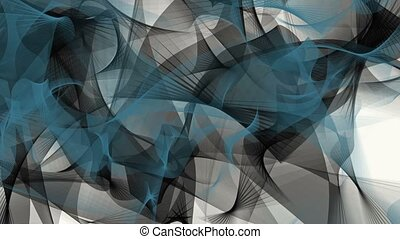Abstract background in black and blue on white