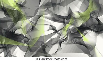 Abstract background in black and yellow