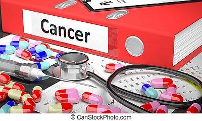 medicaments, médico, Suministros, Doctor, tabla, Carpeta,...
