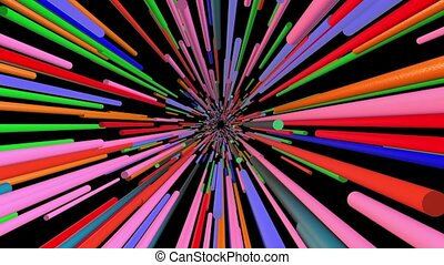 Abstract background in various colors