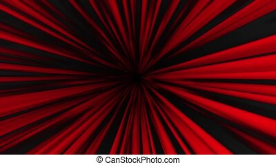 Abstract background in red color on black