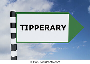 Tipperary concept - Render illustration of Tipperary Title...