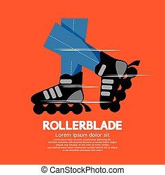 Rollerblade or Roller Skates. - Rollerblade or Roller Skates...