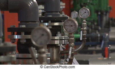 Pumping station and indicators on coke production