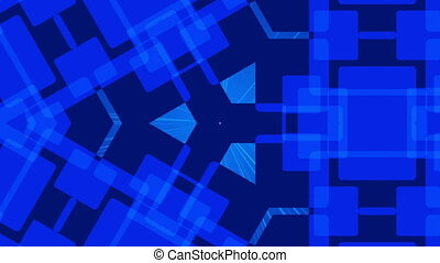 dark blue abstract background, loop