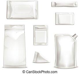 Blank Packaging Set