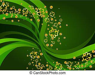 St Patricks Day background - A St Patricks background....