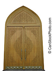 Decorative cut-out doors - Decorative cut-out doors with big...