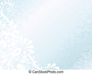 Victorian white satin background, horizontal - elegant white...