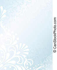Victorian white satin background, vertical