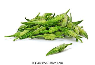 Heap of fresh rapeseed.