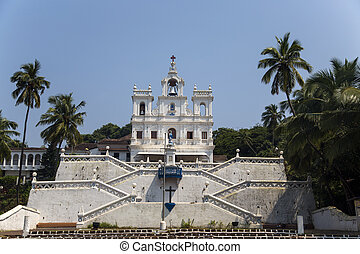 Church of Our Lady of the Immaculate Conception at Panaji,...