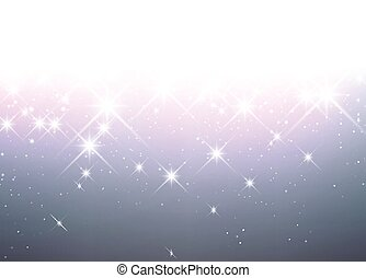 Luminous background Vector paper illustration