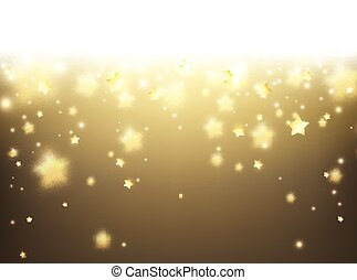 Sepia background - Sepia background with stars Vector paper...