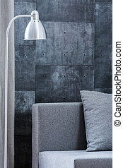 Concrete wall design - Photo of concrete wall design in new...