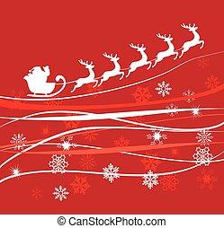 Santa Claus - vector Santa Claus