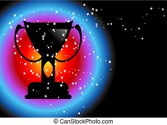 Champions background - Editable abstract vector background...