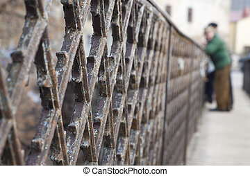 Baluster of the old bridge