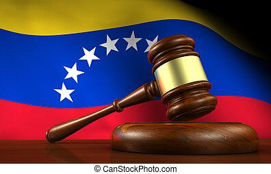 Venezuela Law Legal System Concept - Venezuela law, legal...