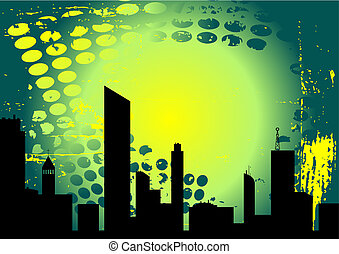 Urban grunge - Abstract style urban grunge vector design