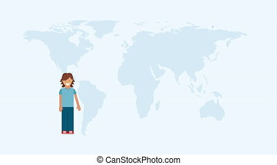 People of the world, Video Animation HD1080