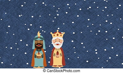 Happy epiphany design, Video Animation HD1080