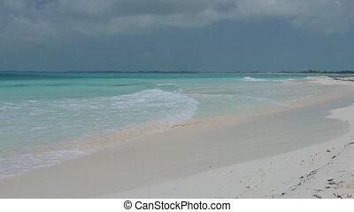 Tropical beach, Boracay - Tropical beach of Cayo Largo...