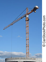 construction of a residential house