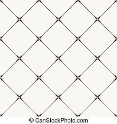 Vector seamless tile pattern. Modern stylish texture