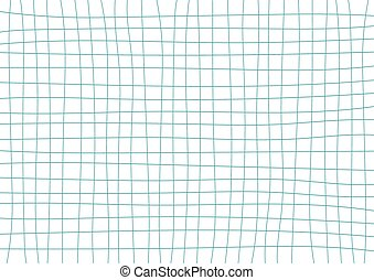 Blue Teal Grid White Background