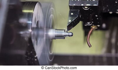 metalworking industry - cnc milling process in action