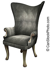 3d Antique Royal Chair - Luxury 3d antique style royal chair...