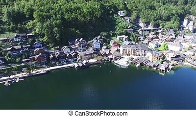 Hallstatt village unesco - Hallstatt village on Hallst?tter...