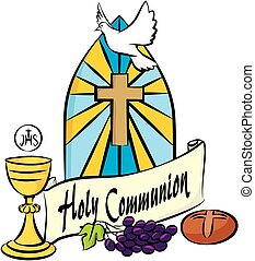 my first holy communion - holy communion items on the...