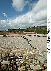 Norga ancient city of Latium, Italy - Ancient ruins in Norba...