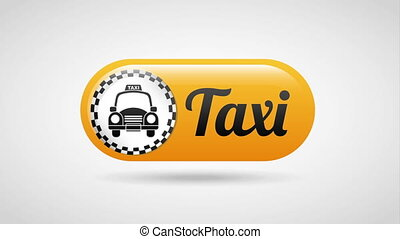 Taxi service design, Video Animation HD1080
