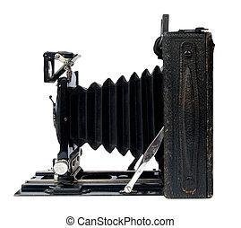 old camera - old vintage black camera