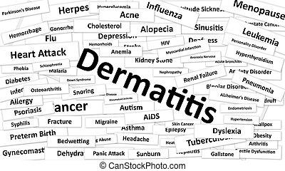 dermatite,