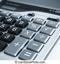 calculator - the calculator isolated on the white background...
