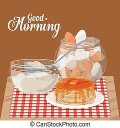 good morning breakfast design - good morning breakfast...