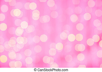 pink blurred background with bokeh lights