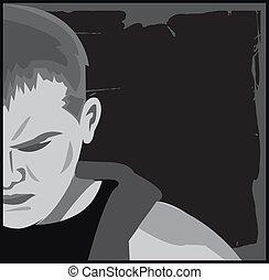 Depressed - depressed man
