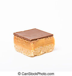 Caramel Shortbread - Chocolate and Caramel covered...