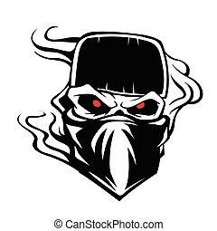 Skull bandana hat Outlaw
