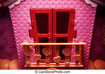 Pink House Toy