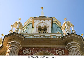 Tsaritsyno Grand Palace - Photo of arhitectural elements of...